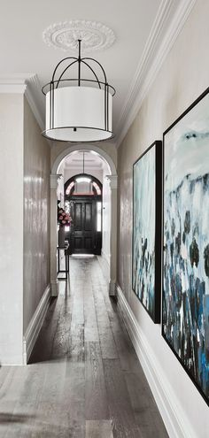 Hallway - Alisa & Lysandra - Albert Park Project