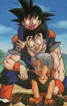 Animes Wallpapers, Cute Wallpapers, Dragon Ball Z, Goten E Trunks, Anime Pixel Art, Old Anime, Aesthetic Anime, Anime Characters, Animation