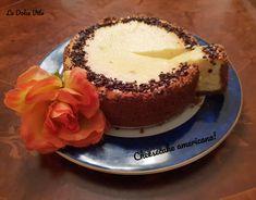 #Cheesecake ricetta americana! Cheesecake Americana, Baking, Desserts, Food, Bread Making, Tailgate Desserts, Deserts, Patisserie, Essen