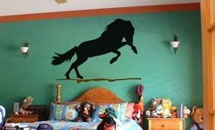 Horse decal-horse sticker-Icelandic horse-horse vinyl wall decor-28 X 40 inch horse. $39.00, via Etsy.
