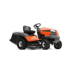 Husqvarna V-Twin Hydrostatic Garden Tractor with Mulching Capability (Kit Sold Separately) at Lowe's. The Husqvarna garden tractor is designed for homeowners and landowners who need an efficient machine for every season of the year. Best Lawn Mower, Best Riding Lawn Mower, Riding Mower, Best Lawn Tractor, Lawn Mower Tractor, Pedal Tractor, Briggs Stratton Motor, Yard Tractors, Gardening