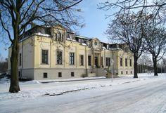 Panoramio - Photo of Schloss Leipzig-Breitenfeld im Schnee