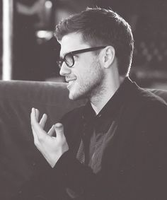 Aaron Tveit! Literally can't get enough of this guy. OMG THIS WAS WHEN HE WAS ON UGLY BETTY