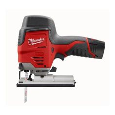 Milwaukee M12 Red 12-Volt Lithium-Ion Cordless Compact Jigsaw Kit-2445-21 at The Home Depot $134.10