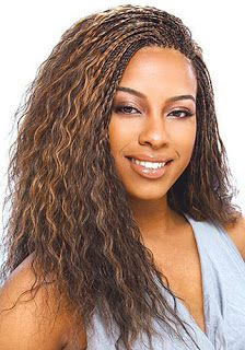 Curly Micro Braids, micro braids hairstyles for black women, micro braids styles for black women, micro braided hairstyles for black women, micro braided styles for black women African American Braided Hairstyles, African American Braids, Braided Hairstyles For Black Women, African Hairstyles, Micro Braids Styles, Braid Styles, Hair Styles 2016, Curly Hair Styles, Natural Hair Styles