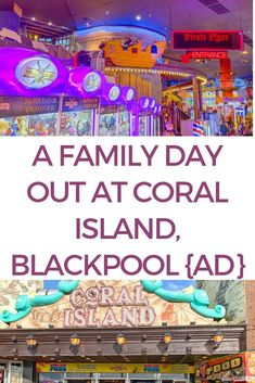 A family day out at Coral Island Blackpool, a review {AD} Days Out For Couples, Family Days Out Uk, Days Out With Kids, My Little Pony Set, Family Bar, Time Of Your Life, Travel Reviews, Blackpool, World Traveler