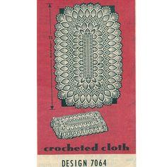 Vintage Pineapple Tablecloth Patterns - Vintage Patterns Dazespast Blog