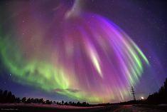 Northern Lights - Russia, Murmansk region, Imandra