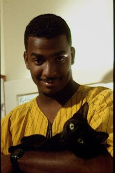 A Fresh Cat of Bel-Air, as pictured withCarlton.