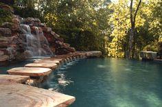 Custom Swimming Pools by Avalon Pools - Award winning Atlanta pool builders of luxury inground pools.