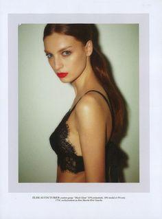 pretty lace bra