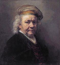 Rembrandt van Rijn - Self-portrait, 1669