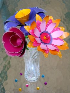 Paper flowers | by all things paper