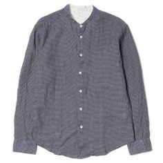 haven . visvim - ingall shirt l-s : check cotton