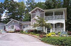 Garden Walk Bed & Breakfast Inn in Lookout Mountain, Georgia   B&B Rental