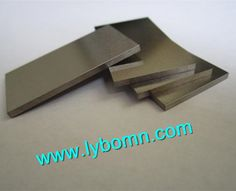 99.95 high purity Tungsten sheet/plate/strip in kands of sizes on sale with professional manufacturer in China