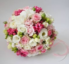 Floral Bouquets, Wedding Bouquets, Floral Wedding, Wedding Flowers, Hot Pink Weddings, Blush Bouquet, Arte Floral, Decoration Table, Perfect Wedding