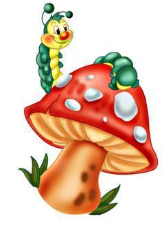 View album on Yandex. Art Drawings For Kids, Drawing For Kids, Art For Kids, Holly Hobbie, Dot Painting, Fabric Painting, Alphabet, Create Drawing, Mushroom Art