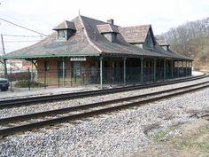 Norfolk & Western Railway Depot- Marion VA (1) by kevystew, via Flickr
