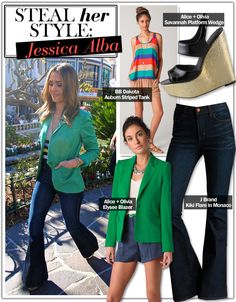 Steal Her Style: Jessica Alba