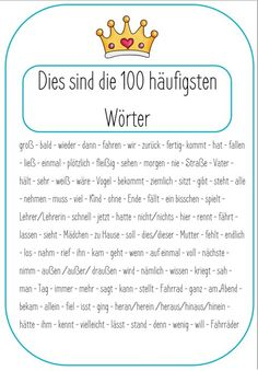Rechtschreitraining 100 words - spelling king - elementary school-shop - level of education - Spelling king arşivleri – level of education The Effective Pictures We Offer You About school cl - Science Student, Social Science, German Grammar, German Language Learning, Learn German, School Shopping, Home Schooling, School Memes, Teacher Resources