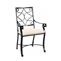 Camino Scroll Arm Chair by Charleston Forge
