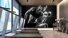 Complete Guide to Fitness(GYM) Branding and Marketing Gym Interior, Welcome To My House, Gym Decor, Boxing Gym, Gym Room, Corporate Interiors, Spa Design, Workplace Design, Fitness Design