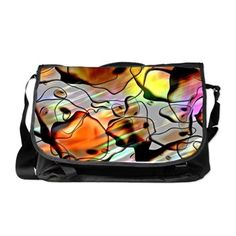 Eerie Abstract MB Messenger Bag