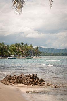 Puerto Viejo Costa Rica Rocky Beach