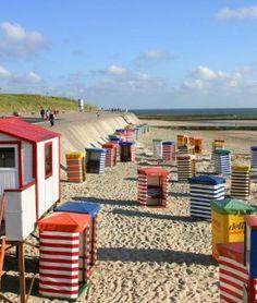 Strandzelte auf Borkum, © Ostfriesland Tourismus GmbH