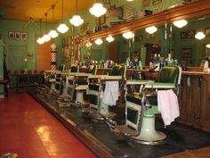 Gabby's Barbershop is a great place to get a cut. The traditional ambiance sure beats the typical dolled up salon aesthetic, and the barbers know their stuff.