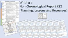 PRIMARY EARTH 🌍  Writing a Non-Chronological Report KS2 (Planning, Lessons and Resources) This lesson pack is designed to help KS2 pupils learn more about how to write a Non-Chronological Report, such as the features of the text, planning a Non-Chronological Report and a wow lesson. The planning pack is suitable for all abilities and will teach children to write a detailed Non-Chronological Report, fully linked to the National Curriculum. Children will learn that the purpose of a… Non Chronological Reports, Primary English, National Curriculum, English Lessons, Teaching Kids, Texts, Purpose, Earth, Writing