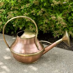 Heritage Hammered Copper Watering Can