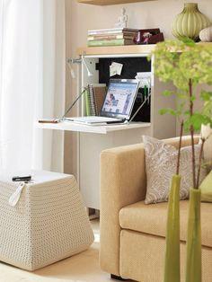 Unique Small Computer Desk for Living Room