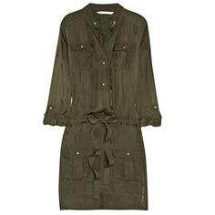 Must Have: платье в стиле милитари или сафари | Fashion Details. Всё о моде Весна-Лето 2013