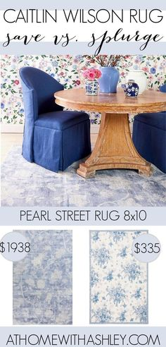 Caitlin Wilson Rugs on a budget. Need one of these gorgeous rugs but can't afford it? I share how to find a look alike or dupe. Perfect for the living room, bedroom, or kitchen! Love the Kismet or Jolie or Celine? I've found similar options in coral, navy, grey, blue, and pink.
