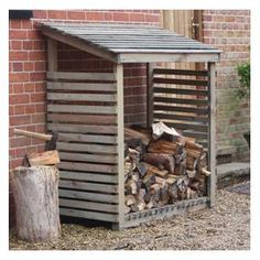 This deluxe pine Log Store provides the perfect storage conditions for your…