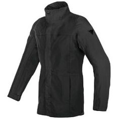 dainese_brooklyn_gore_tex_jacket_black_detail Best Deal Alpinestars Valparaiso 2 Drystar Jacket (Color: Light Grey/Black/Red / Size: SM)