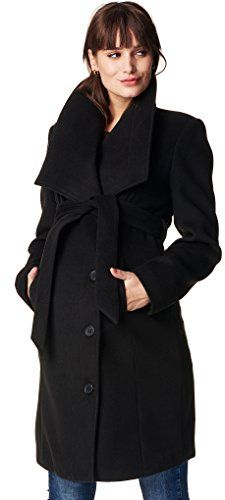 #Noppies #Damen #Umstands #Mantel #Jacket #Silje, #Schwarz #(Black #C270), #34…