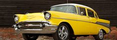 Wheeler Dealers '57 Chevy - Ferrari Yellow with white top