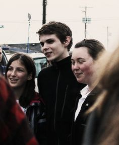 Robbie Kay with his fans. so jealous!!