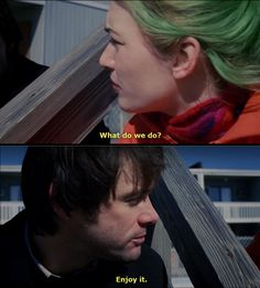 27 Magical Quotes From 'Eternal Sunshine Of The Spotless Mind' Series Movies, Film Movie, Movies Showing, Movies And Tv Shows, Meet Me In Montauk, Michel Gondry, Cinema, Eternal Sunshine, Bobe