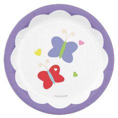 #Butterflies Paper Plate - #birthday #gift #present #giftidea #idea #gifts