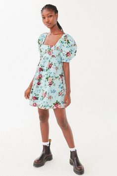 Laura Ashley Interiors, Laura Ashley Fashion, Babydoll Dress, Print And Cut, Poplin, Baby Dolls, Vintage Inspired, Urban Outfitters, Fitness Models