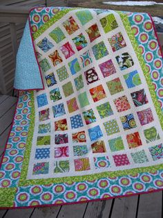 Simply AMY BUTLER 60x72 Soul Blossoms lap quilt by pinetreelodge [another great scrap user-upper! jh]