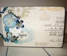 This Moment Premade Chipboard Album in Soft by skyofbluecrafts, $55.00