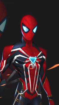 Spiderman Black Suit - IPhone Wallpapers