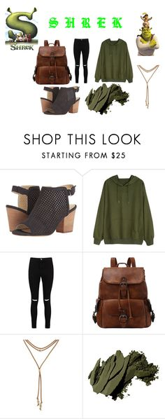 """""""GET OUT MY SWAMP!"""" by hoeforalex ❤ liked on Polyvore featuring Isolá, Boohoo, Lucky Brand and Bobbi Brown Cosmetics"""