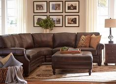 Living Rooms, Walden Sectional, Living Rooms | Havertys Furniture