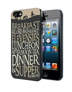 The Hobbit Diet Samsung Galaxy S3/ S4 case, iPhone 4/4S / 5/ 5s/ 5c case, iPod Touch 4 / 5 case